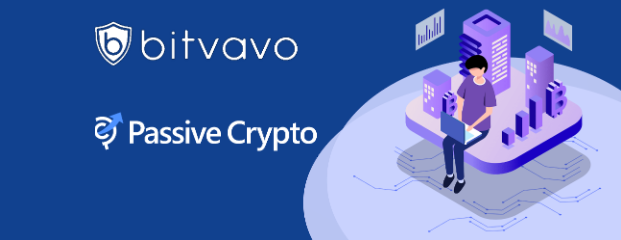 Bitvavo is proud to announce its new partnership with PassiveCrypto!